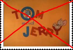 Anti Chuck Jones Tom and Jerry stamp
