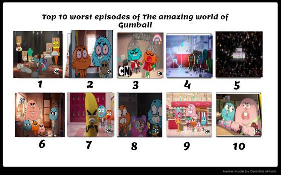 My worst episodes of TAWOG