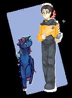[AT] Andromeda and Data by SakuraTES