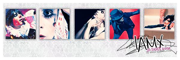 IAMX icons by Alexx-x3