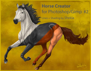 Horse - FREE TEMPLATE for PSD #2