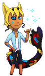 Pixel commission: Firefoxgirl [animated] by Agent-Cheshire