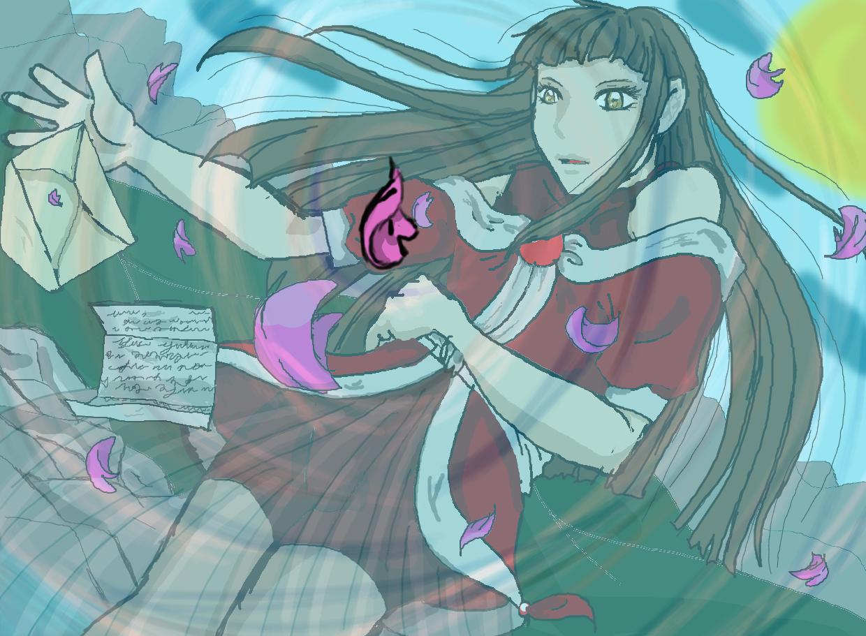 yuki's twin Ino by BlueMoonSSR
