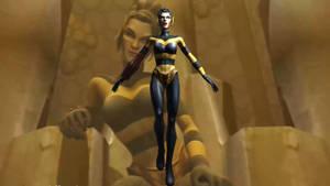 Justice League Heroes (PS2) - Queen Bee [BLENDER]