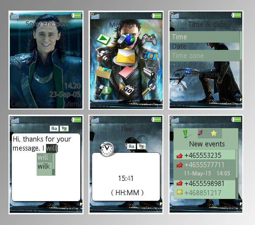 sony mobile hardcore themes ericson