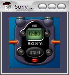 Sony Clock Tile
