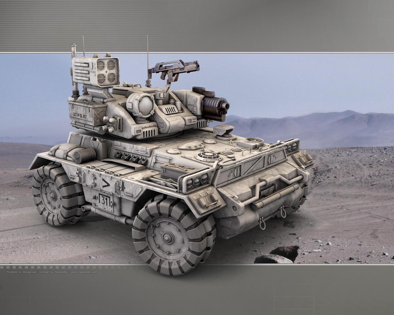 Light Armor 2045 by dangeruss