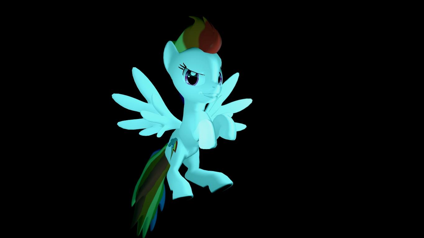 (HEX DL) Super Rainbow Dash by Legoguy9875