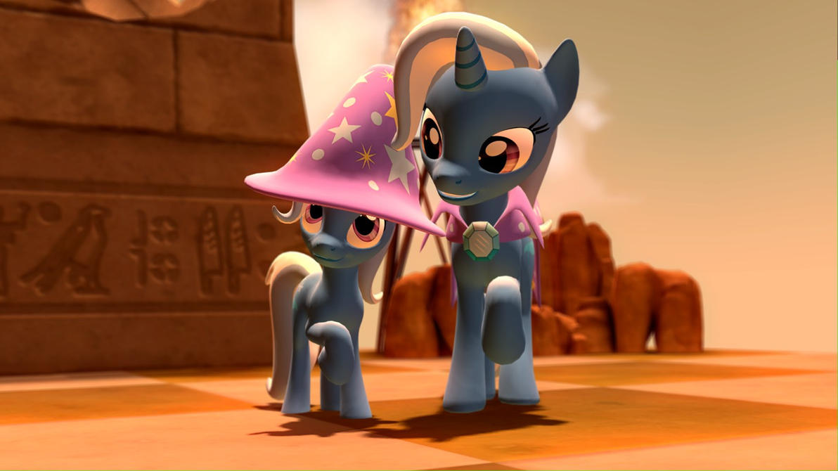 (DL) Filly Trixie by Legoguy9875