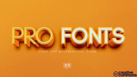 Pro Fonts