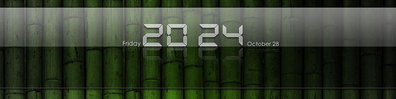 iPad Clear Clock for XWidget