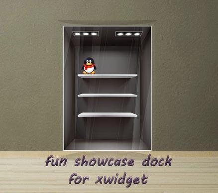 Fun Showcase Dock for XWidget by boyzonet