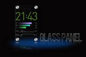 Glass Panel for XWidget by boyzonet