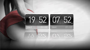 MIUI Digit Clock for XWidget