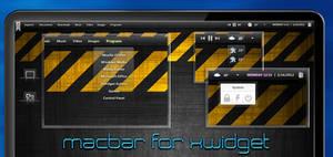 Macbar for XWidget