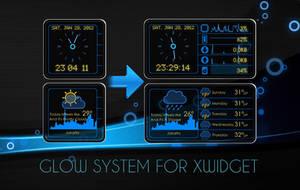 Glow System for XWidget by boyzonet