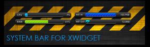 System Bar for XWidget