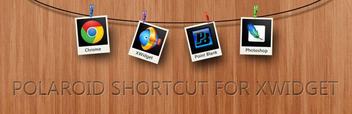Polaroid Shortcut for XWidget by boyzonet