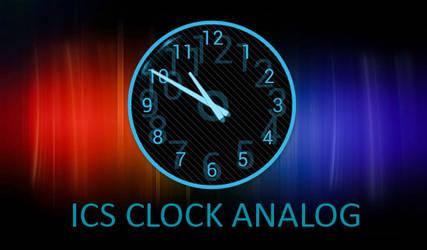ICS Clock Analog for XWidget by boyzonet