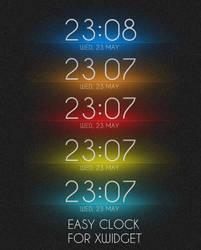 Easy Clock for XWidget