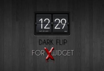 Dark Flip for XWidget by boyzonet