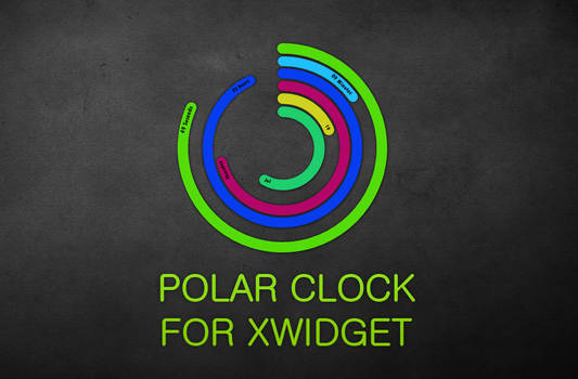 Polar Clock for XWidget