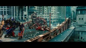 Transformers Dark of the Moon Battle Gif