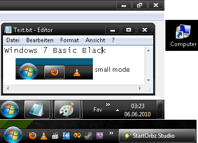 Windows 7 Basic Black by cryeR