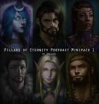 Pillars of Eternity Portrait Minipack #1 by amegani