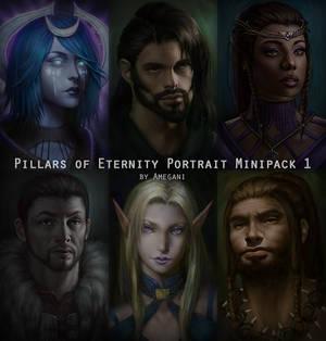 Pillars of Eternity Portrait Minipack #1