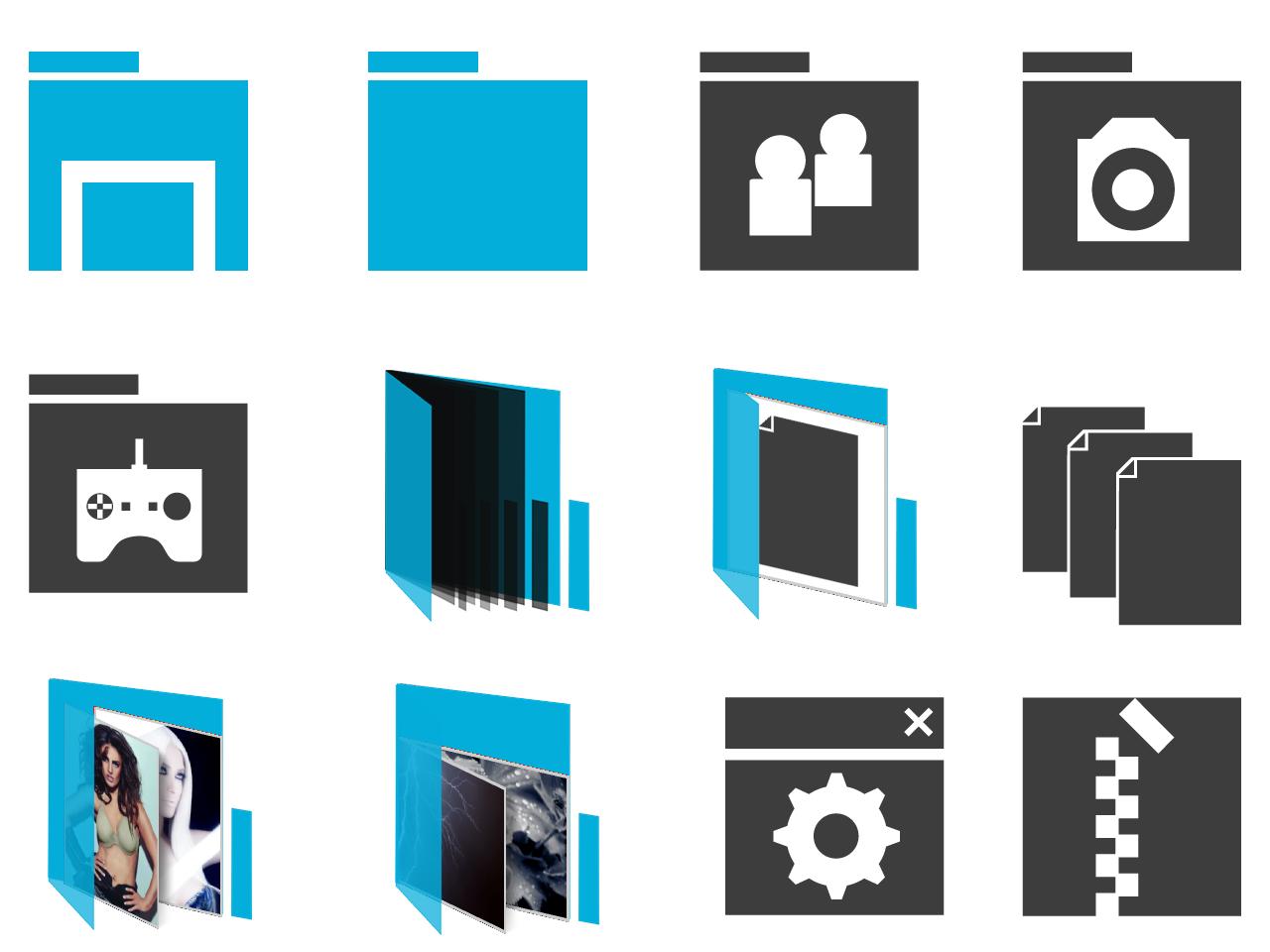 Simplify Metro Blue by gladi8r