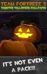 TF2 Haunted Halloween Wall by xGameGuy360x