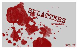 Splatter Brushes set. 2 by Chlotte
