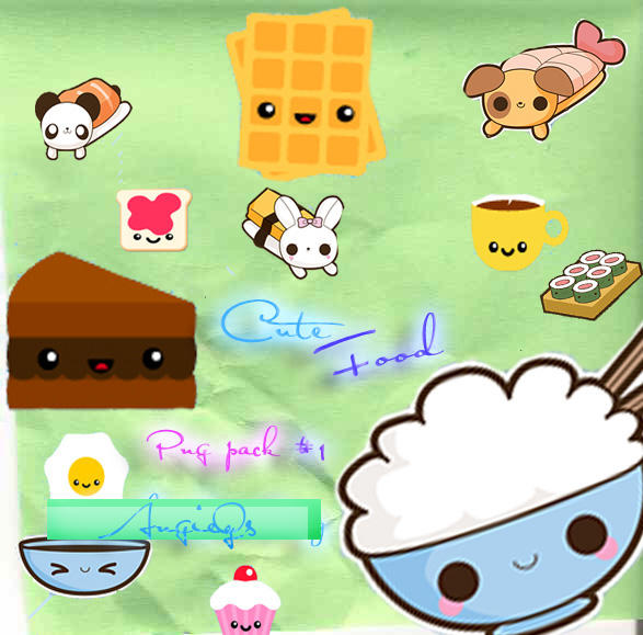 Cute Food Png By AngieQs On DeviantART