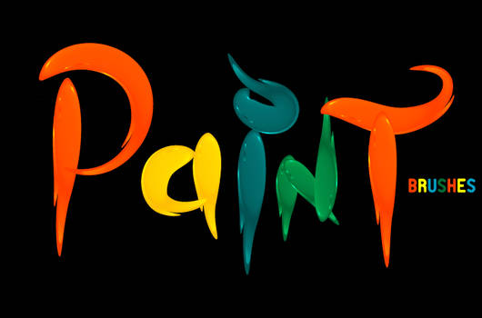 vector 3D paint brushes
