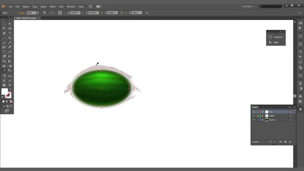 Create a Watermelon in Adobe Illustrator CS6