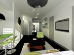 Living 3  (CAD - 3DMAX)
