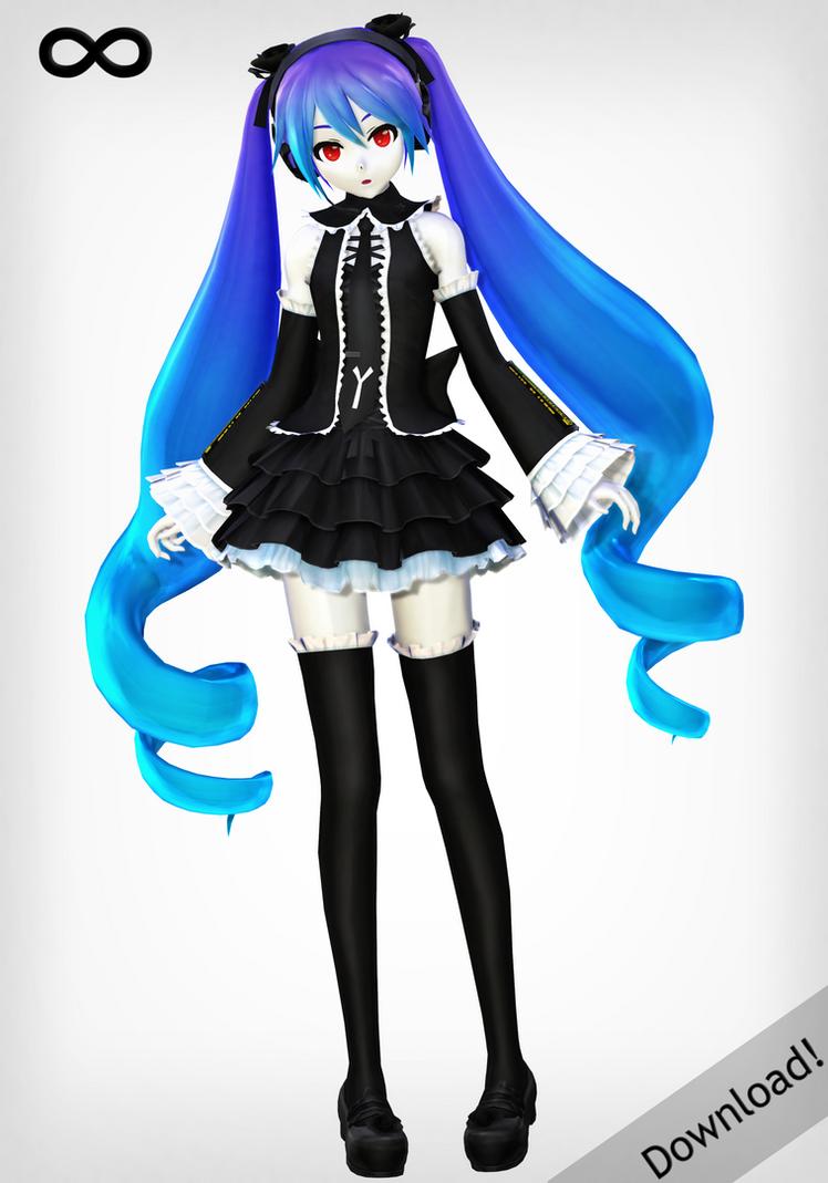 infinity hatsune miku koron style download by xdreamshardsx on