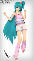 Koron Puffy Pastels Hatsune Miku - Download! by xDreamShardsx