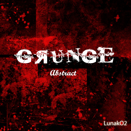 Grunge Abstract Brushes Set 1