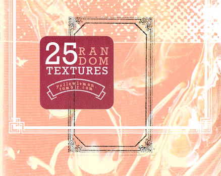 25 random textures