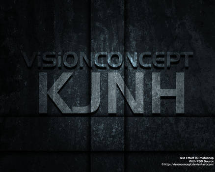 Text Effect by VisionConcept