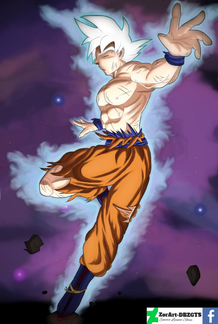 Mastered ultra instinct goku by zorart dbzgts on deviantart - Goku ultra instinct mastered wallpaper ...