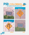 PSD Coloring #05