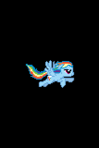 Rainbow Dash iOS Boot Logo by tanmanknex