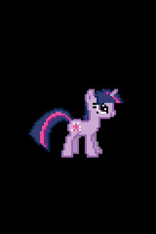 Twilight Sparkle iOS Boot Logo by tanmanknex