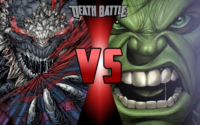 Death Battle: Hulk vs Doomsday Prelude by ... Doomsday Vs Hulk Death Battle