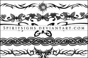 Tattoos by spiritsighs-stock