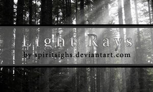 Light Rays by spiritsighs-stock