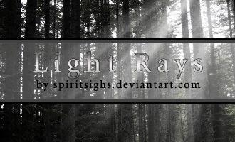 Light Rays by spiritsighs-stock